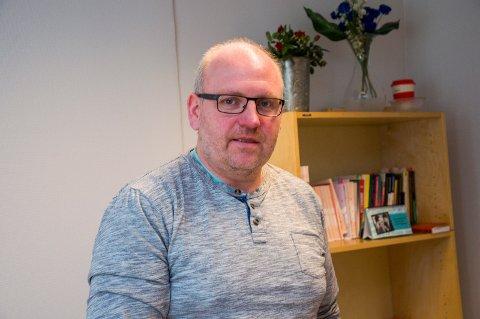 STRESSET PAPPA: Kjetil Ruud måtte ta seg fri fra jobben i 2,5 time.