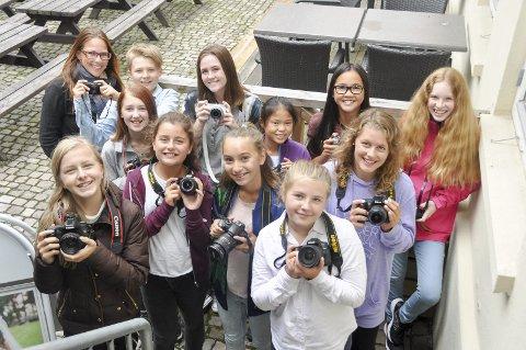 Foto: Også i år blir det fotokurs for ungdom i Askim.