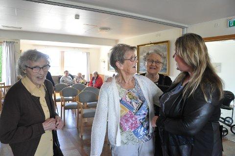 Flott konsert, mente Astrid Belgen, Kari Finstad og Ruth Jakobsen.