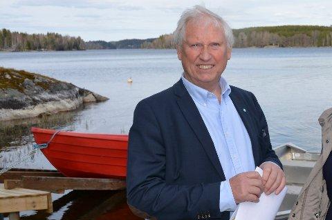 BEDRE DEKNING: Arild Hansen etterlyser bedre dekning ved Lyseren. ARKIVFOTO