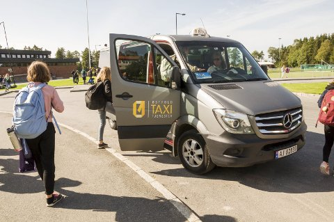 FLEXX: For 20 kroner turen kan du nå ta Flexx internt i Trøgstad, mens det koster 25 kroner ut av kommunen. ILLUSTRASJONSFOTO