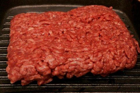 Må merkes: Kjøttdeig må merkes med fettprosent.