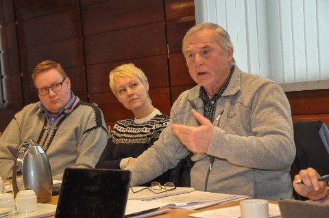 Skatte-reduksjon: Petter Ole Kirkeby (Sp) fikk flertallet i komunestyret med på å redusere eiendomsskatten. I høst får innbyggerne derfor null kroner å betale inn til kommunekassa.