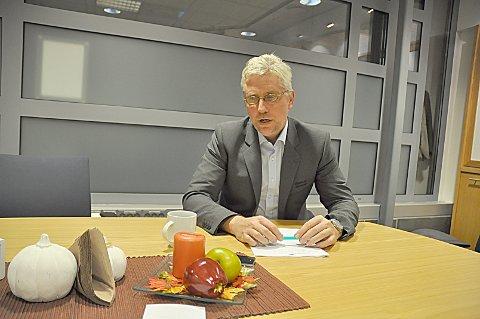SIER STOPP: Banksjef Rune Hvidsten og Askim & Spydeberg Sparebank er blant bankene som har fått nok av IT-kostnadene i Eika. ARKIVFOTO