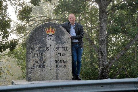 Splitte Viken: Ole André Myhrvold (Sp) vil splitte Viken. Nå tar han saken opp med kommunalministeren.