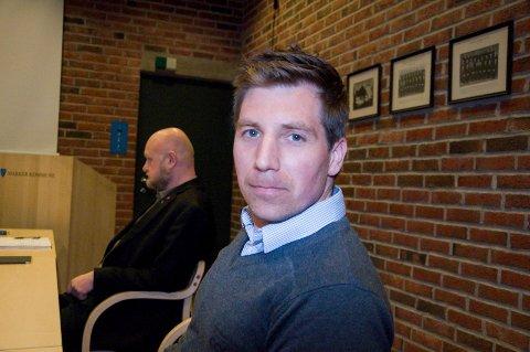 STEMTE NEI: Roger Fredriksen (Ap) var én av to som stemte nei til at den tidligere Rema 1000-butikken på Ørje gjøres om til leiligheter. ARKIVFOTO