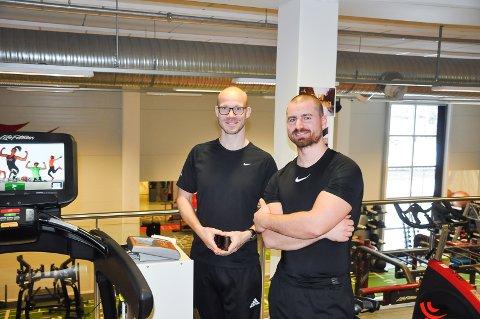 Sigurd Diepens og Jørgen Undrum har gått sammen for å kunne teste sine kunder, for å kunne gi de best mulig oppfølging.