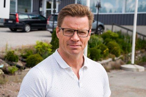 KLAR FOR HÅN: Administrerende direktør Tor Arne Pedersen i Scanergy signaliserer byggestart for Hån vindpark på sensommeren neste år. ARKIVFOTO