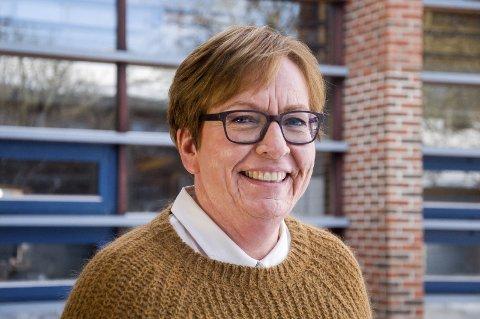 SJEF: Anne-Kari Grimsrud er øverste sjef for økonomien i Marker kommune. En stilling hun overtok høyst nølende, men en avgjørelse hun ikke angrer på i dag.