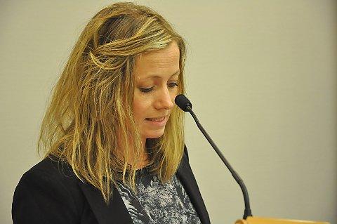 SA NEI: Martha Hersleth Holsen (Sp) så ingen grunn til å ha med det planlagte motorsenteret på Jørgentvedt i Trøgtads kommuneplan for 2018-2029.