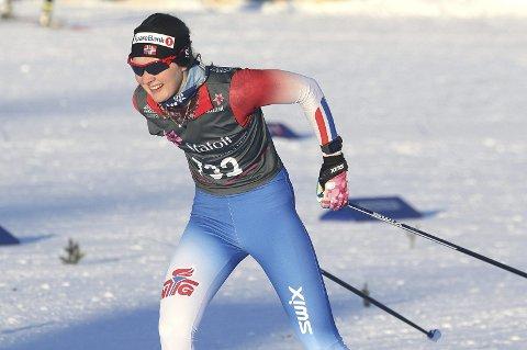 PRESTERTE BRA: Thea Maurtvedt gikk inn til 27. plass på 5 kilometer i NM. Arkivfoto: Glenn Thomas Nilsen