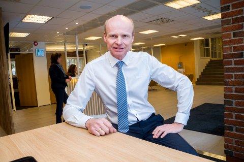 Administrerende banksjef i Marker Sparebank, Rune Iversen, er svært positiv til planene på Linnekleppen.