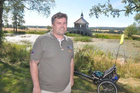 Positiv: – Man må tenke mer på det man får til enn det man ikke får til, mener Jostein Rygge. Han er født med en sykdom som gir ham balanse- og koordinasjonsproblemer.