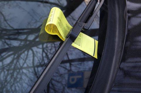 FLERE KLAGER: Flere klager på parkeringsbøter enn tidligere.