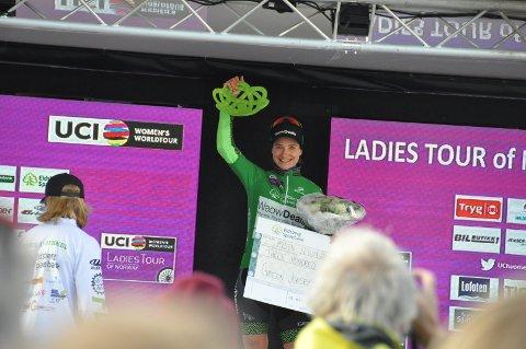 VANT: Nederlandske Marianne Voos vant årets Ladies Tour of Norway. Hun har tidligere vunnet både VM og OL.