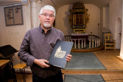 SKAL FORRETTE: Fungerende prost Runo Lilleaasen skal forrette begravelsen til Vibeke Skofterud. Han innrømmer at begravelsen kommer til å bli spesiell.