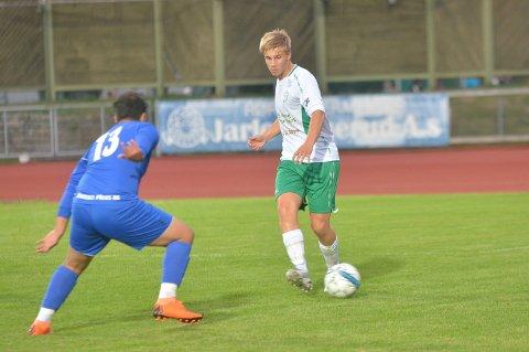 SCORET: Marker-gutten Emil Ødegaard er viktig på Mysen/HILs midtbane.