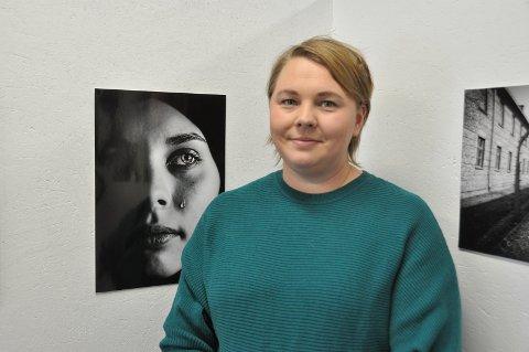 TÅRE: Gro Anette Nilsen er leder i Askim Fotoklubb. Hun kom på andreplass i kategorien svart-hvitt med temaet tristhet.