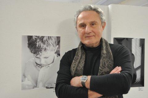 ENGELSK: Michael Puckett fra Marker er medlem i Marker Fotoklubb og deltok på utstillingen.