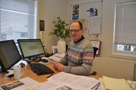 VIL HA DEBATT: Planlegger Frank van den Ring byr inn til diskusjon om veien framover.