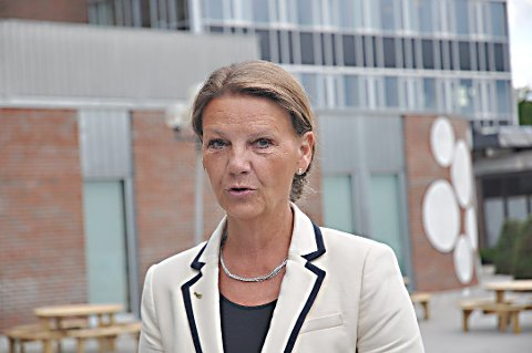 PÅ TIDE: Ingjerd Schou (H) mener det er på tide at Østfold blir representert i regjering. (Arkivfoto)