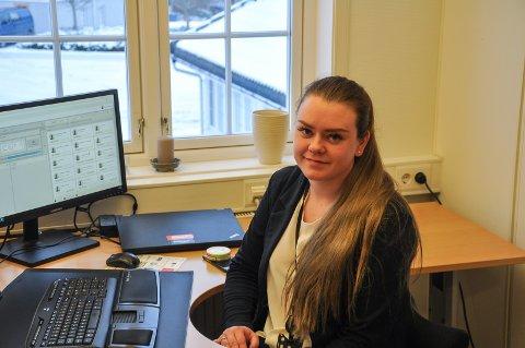 ÅRETS LÆRLING: Tonje Iselin Kragtorp (23) ble i fjor kåret til årets lærling i Indre Østfold. I år er hun nominert for fylkesprisen.