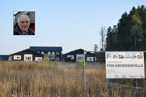 STILLSTAND: Her er ingen utbygging kommet i gang, og rådmann Per Egil Pedersen varslet Gren Eiendom/KK Bolig om heving av kjøpet.