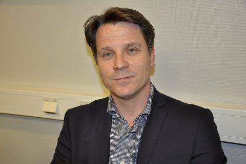 Klart budskap: Næringssjef Rune Melleby oppfordrer deltakerne til å snakke med folk de ikke kjenner under konferansen. Arkivfoto