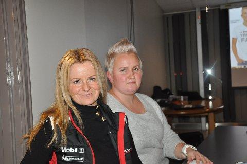 Simone MelleGaard (40) og Mette Nordby (39) var begge på møte med håndverkerforeningen for første gang. Nå tenker de å melde seg inn.