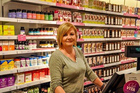 Som lyn fra klar himmel: Elin Nygård fikk nyheten om at Vita-kjeden er konkurs bare minutter før hun åpnet butikken.