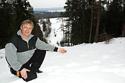 KANDIDAT: Trond Smaadahl (52) fra Mysen er en av 17 kandidater til Årets Idsjel 2020 på Idrettsgallaen i januar. Lite ante han om prisen, da Smaalenenes Avis tok kontakt.