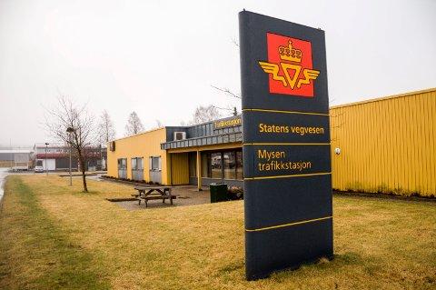 Statens vegvesen, Mysen trafikkstasjon