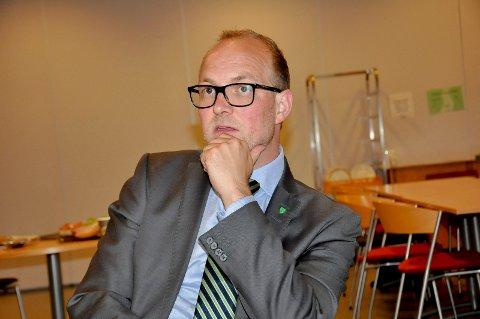 NEI: Stortingspolitiker Ole André Myhrvold sier nei takk til tilbudet.