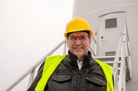 KJETTING: Stortingsrepresentant Stein Erik Lauvås (Ap) går til nærmeste byggevareforrtening og kjøper en kjetting dersom tanken om vindmøller i Vestfjella blir realitet.