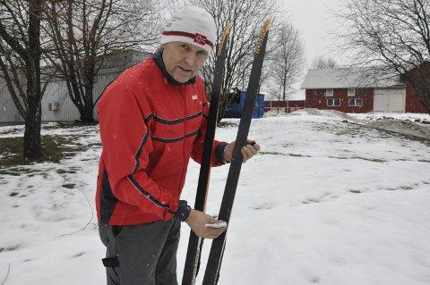 HOLDER SEG I FORM: Jan Gunnar Berger er fortsatt glad i langrenn og holder seg i aktivitet.