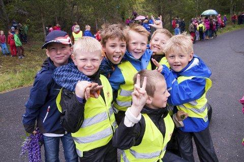 MARKER-BARN: Barna i Marker har mange gode tilbud. Dette bildet er tatt under et Olabil-løp. Men kan noe bli enda bedre? ILLUSTRASJONSFOTO