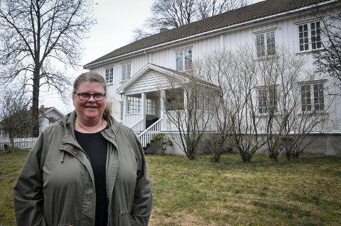 Det føles godt å bo her, sier Anne Cecilie Elgarøy Ringen, Skiptvets nye prest.
