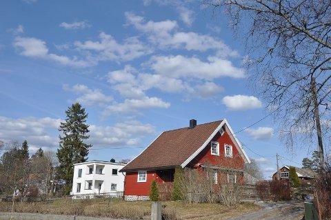 NYE BOLIGER: Vesterås boligfelt vil komme i bakkant av funkishuset ved Storveien