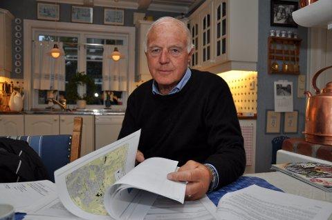 Skuffet: Grunneier Ingar Løken hadde ønsket seg et kompromiss. – Ellers blir 18 mål liggende brakk, sier han.