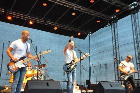 Bandet JAMT spilte alt fra Green Day til Åge Aleksandersen.
