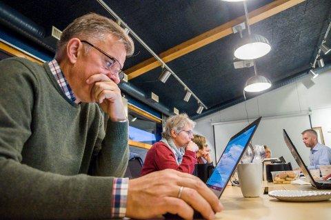 SIER NEI: Vidar Øtsenby, fungerende rådmann i Marker, synes vindkraft i Fjella-området er en svært daålig ide. ARKIVFOTO