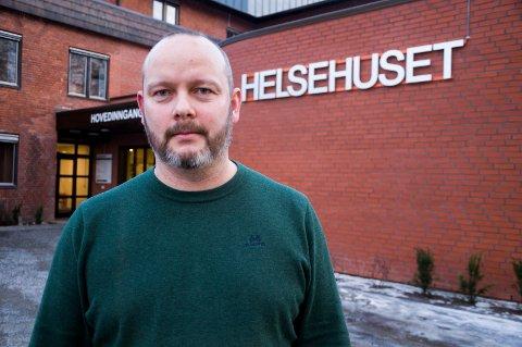 TOM KASSE: Kristian Devold, leder Helsehuset Indre Østfold, kan mangle penger til lønn i november og desember.