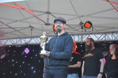 VANT: Jarl-Magnus Einang fra Rakkestad fikk førsteplass i dommeravstemningen med sin gruit.