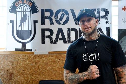 Marius Solly (36) har et ønske om å kunne fortsette i Røverradioen etter soningen i Indre Østfold fengsel.