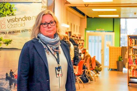 Leder for NAV i Indre Østfold, Anna Lena Gaup, forklarer at de har kontroll på alle søknadene som kommer inn til dem.