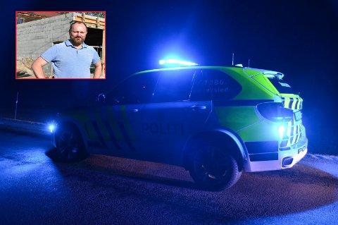 Advarer: Hans Petter Sjøen slapp heldigvis relativt billig unna innbruddstyvene.
