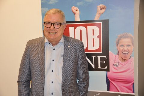 LEDER: Per Kristian Johansen er eier og daglig leder av Jobzone i Østfold.