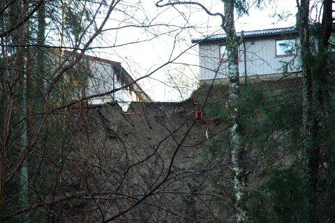 Hobølraset: For 12 år siden gikk det ras langs Hobølelva. Hus måtte kondemneres.