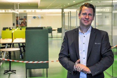 Banksjef i Trøgstad Sparebank Lars Andre Dingstad-Eriksen mener tiden er inne for å satse dersom du har en gründerdrøm.