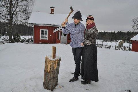 EIERE: Hedda og Egil Kortnes eier Bøenseter og leier den ut til Strix.